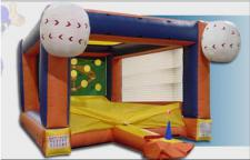 Tee Ball Inflatable Game Booth